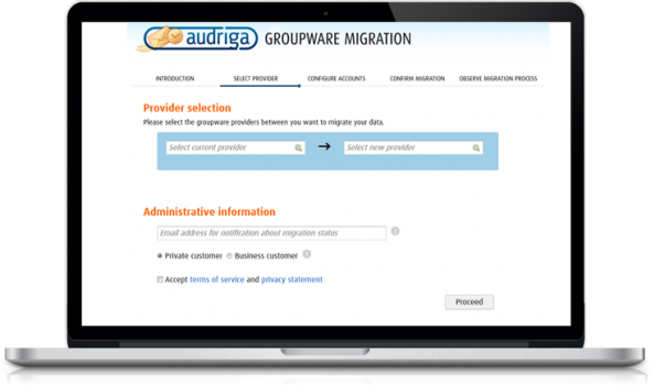 Audriga Migration - Cloud Services